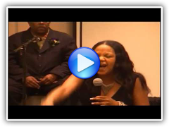 Cynthia Roberts Solo Singing Performance at the Women of Freedom Conference